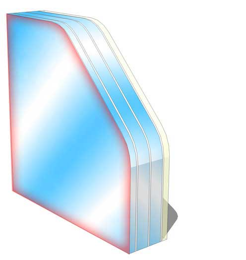 sg1 no spall fire rated glass