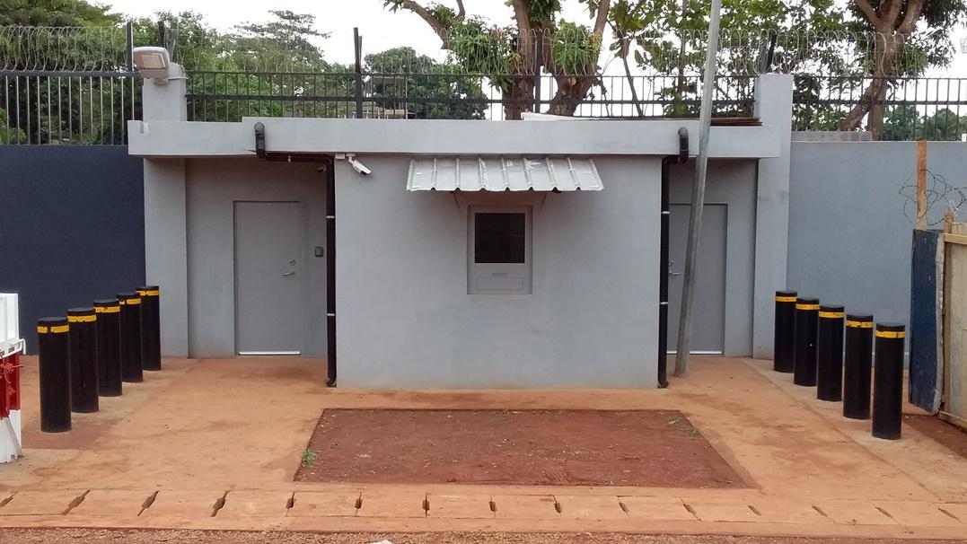 Secure Guard House Transation Window