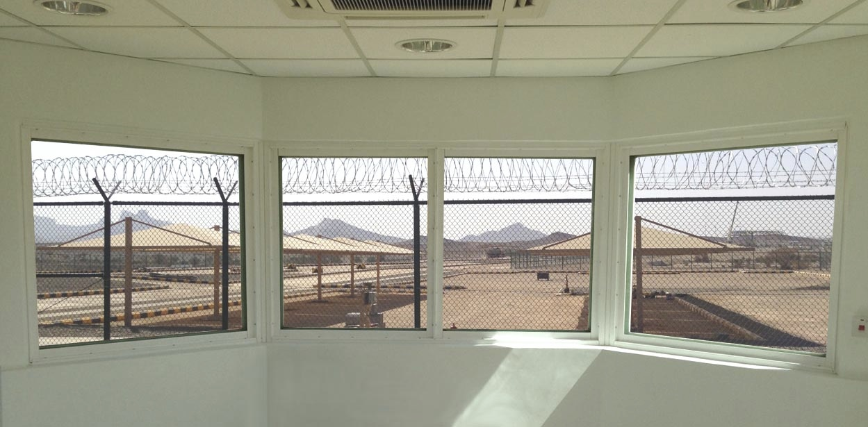 EN 1522 bullet resistant windows