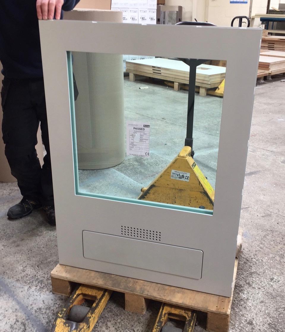 FB6 BR6 bullet resistant guard house transaction window