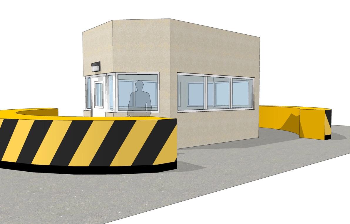 NIJ Guard House Plan