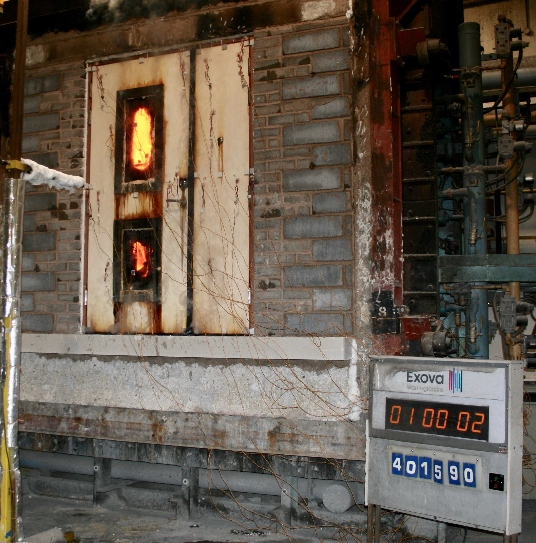 fire test door