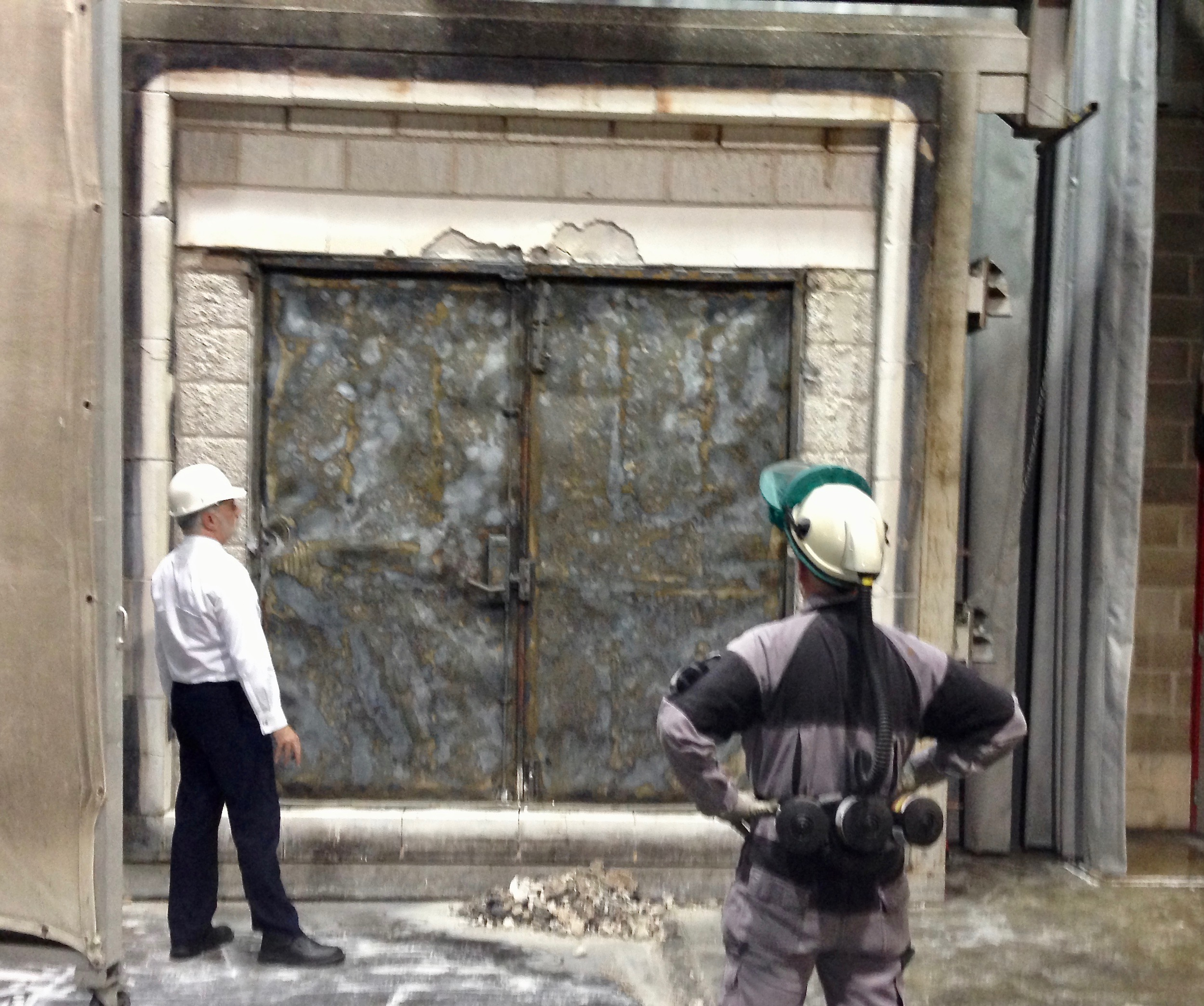 3 Hour Fire Test Double Steel Door