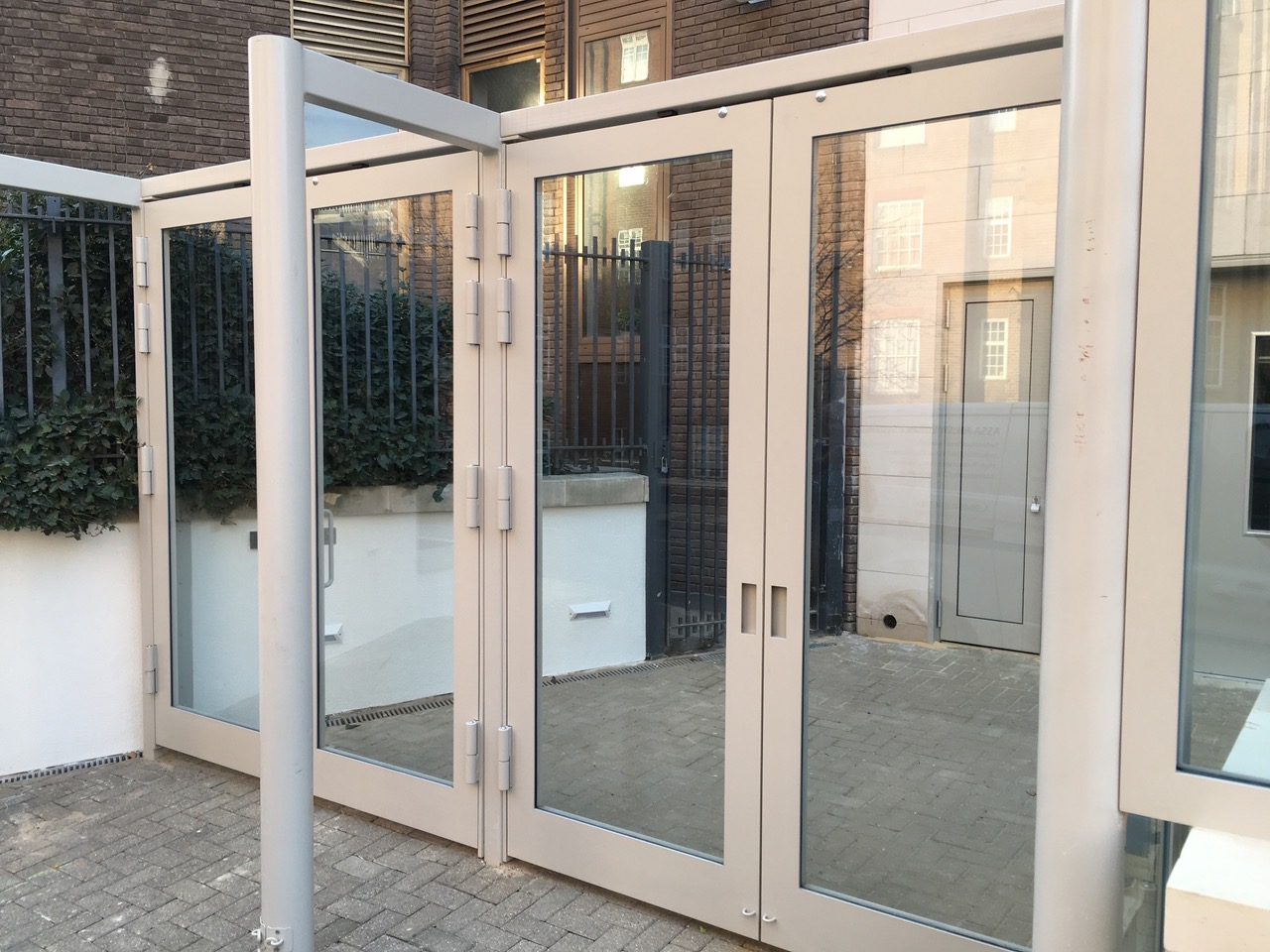 Ballistic Glass Gates