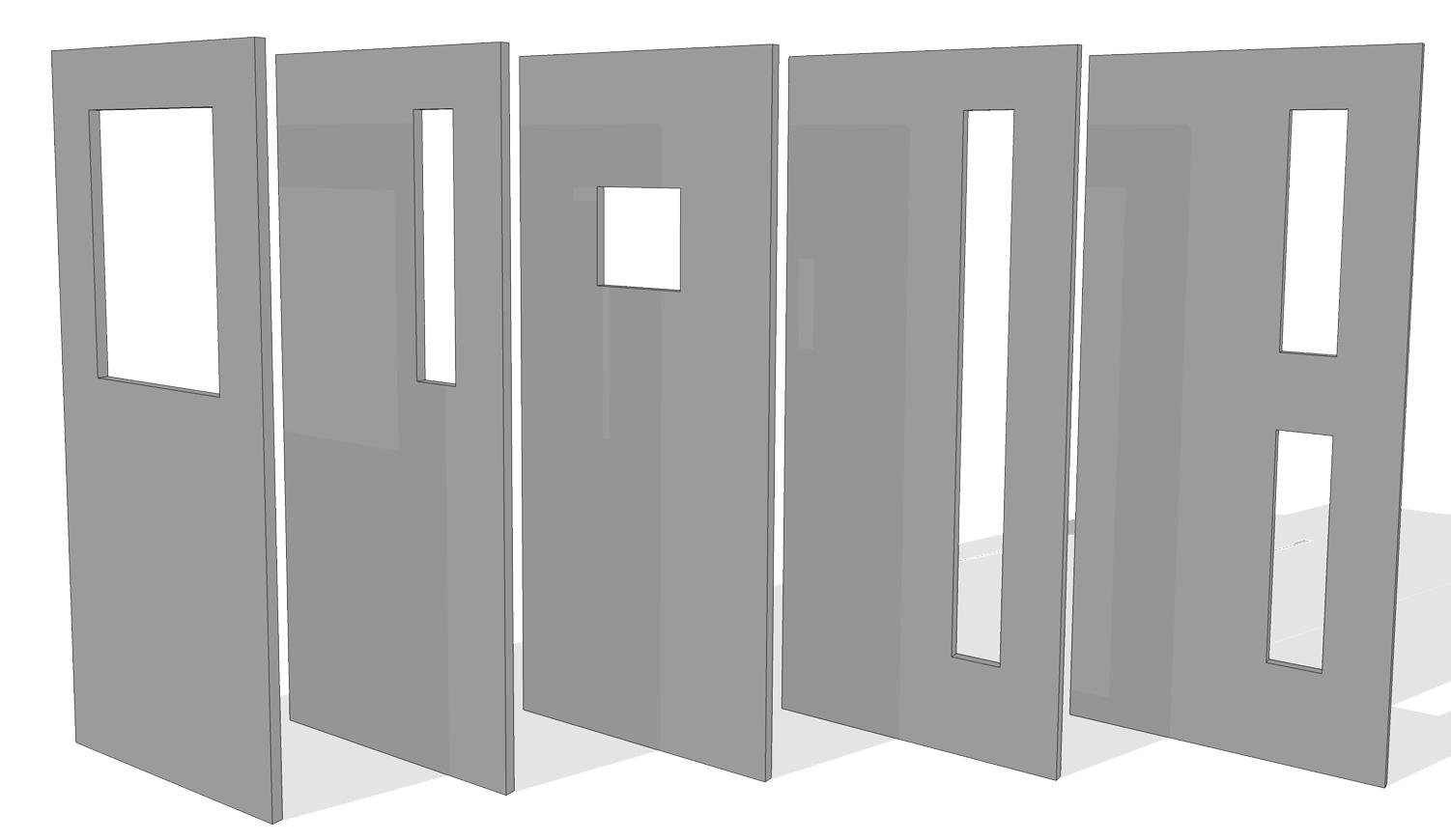 Ballistic Vision-Panels