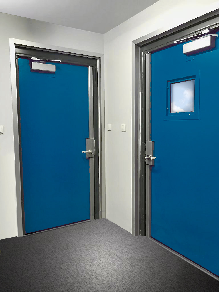 Blast Proof Resistant Doors