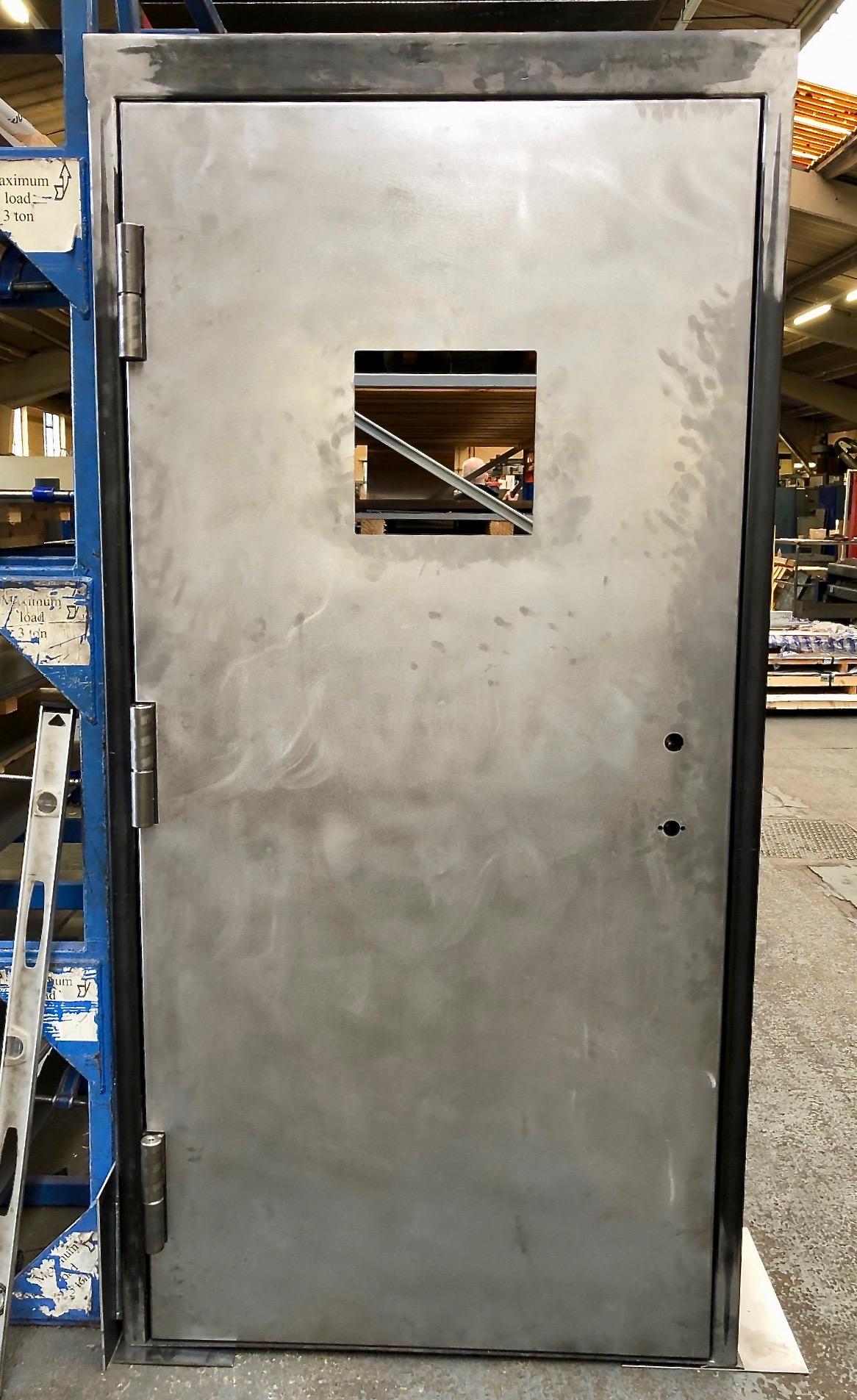 Steel Blast Door