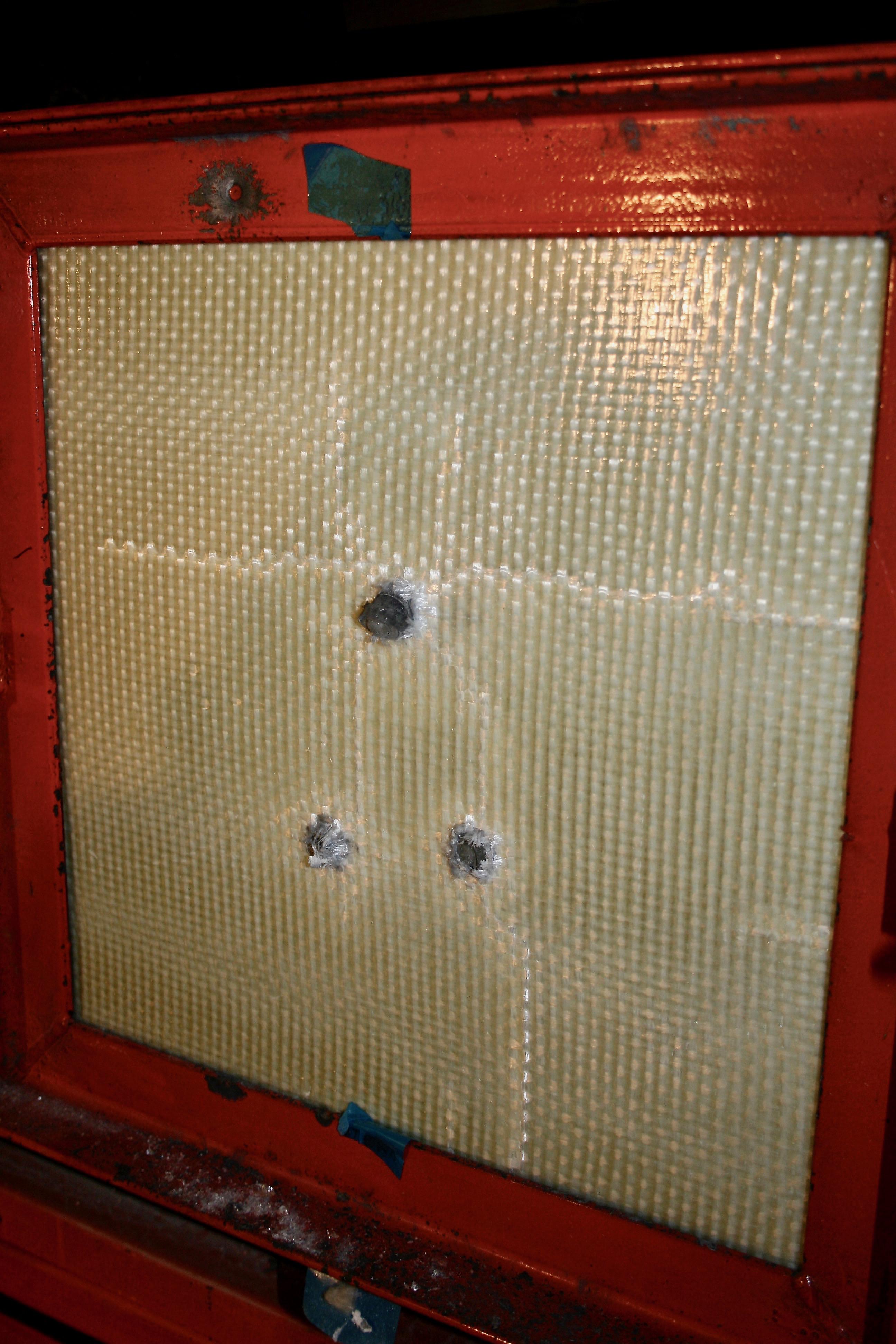 EN 1063 SG2 Test Panel Bullet Resistant Board