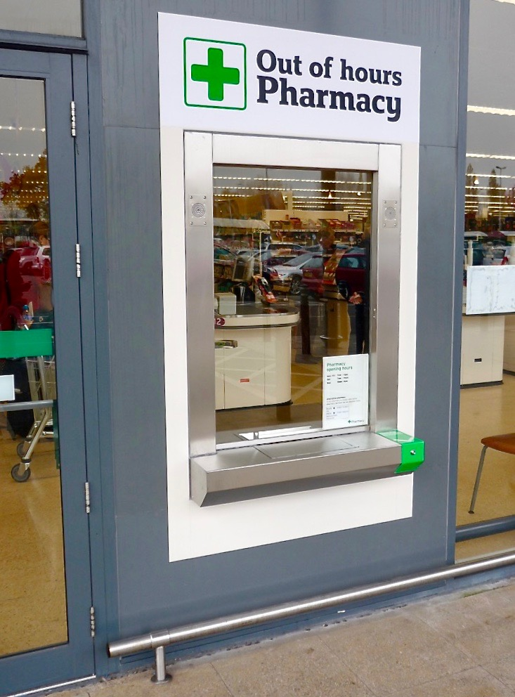 Pharmacy Transaction Window