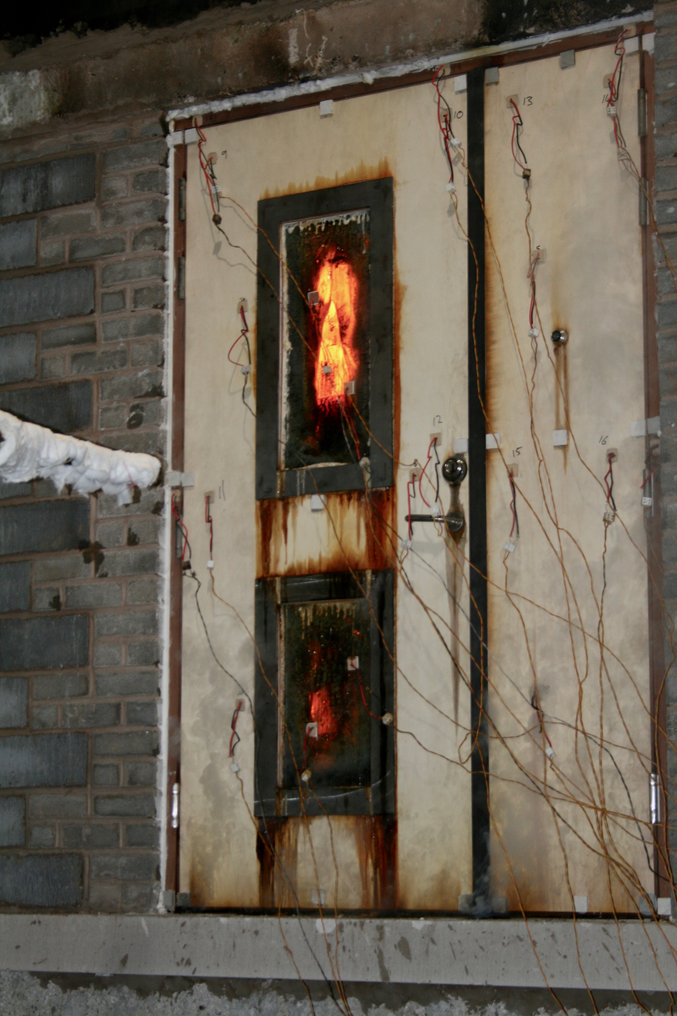 Fire Test Door
